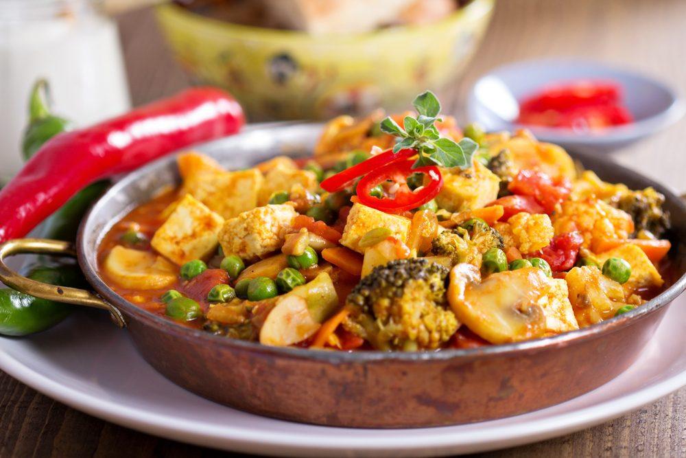 Une recette végétarienne avec du tofu fumé