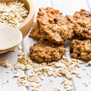Recette de biscuits au muesli faibles en gras