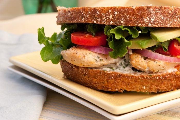Une recette santé pour les hommes de club sandwich