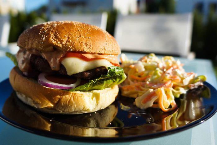 Un hamburger rapide