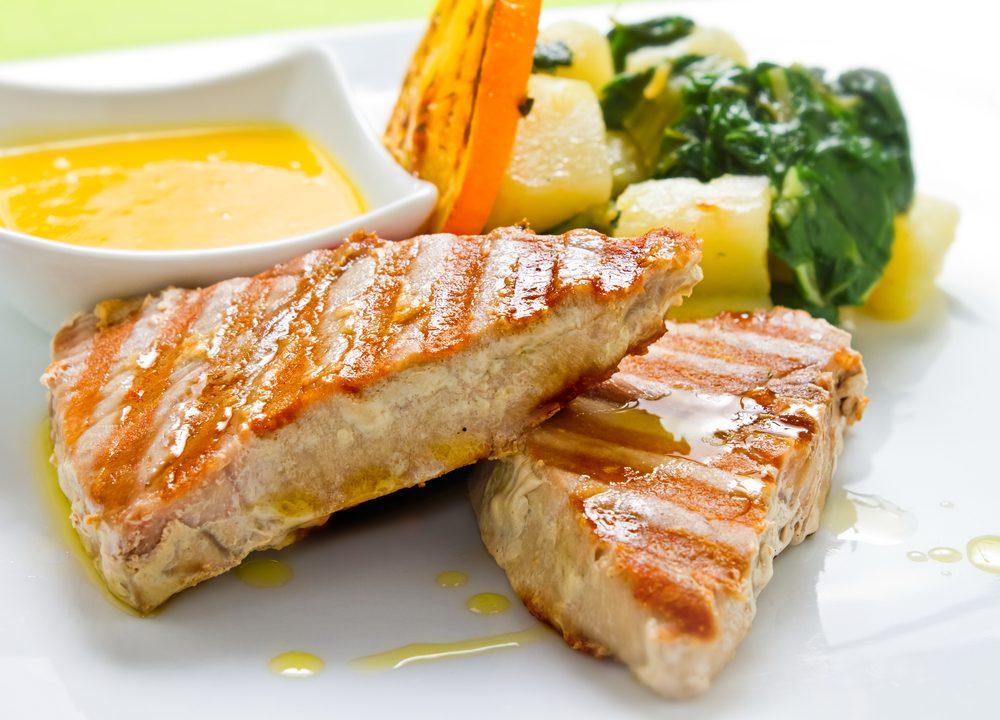 Une recette santé pour les hommes de steak de thon