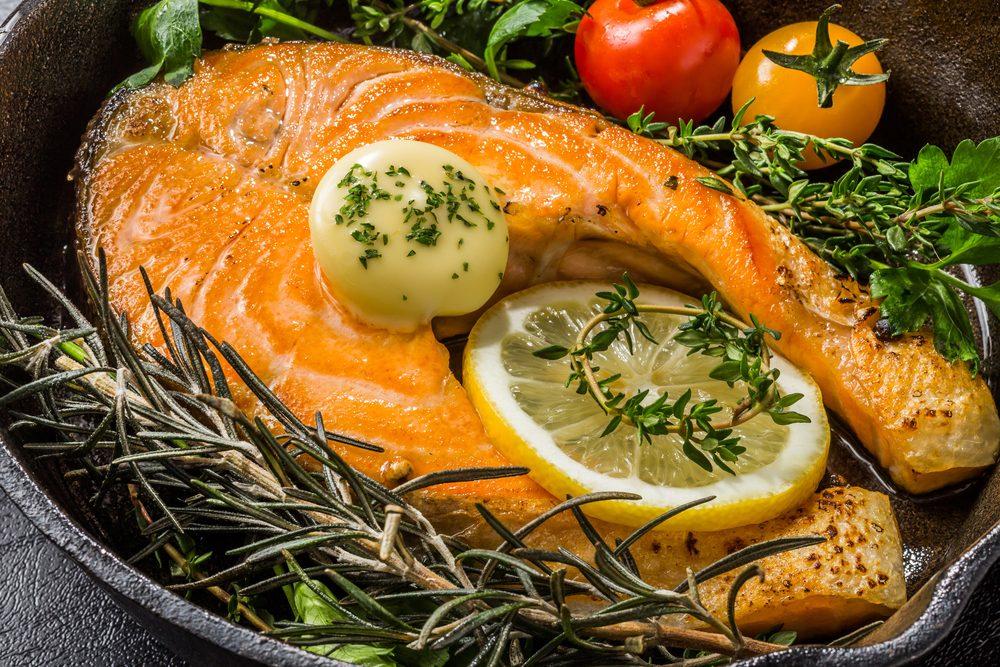 Le saumon pour accroître vos performances lors de vos entraînements.