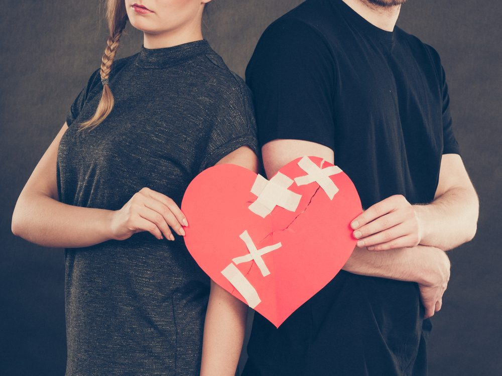 En couple, chacun doit prendre ses responsabilités.