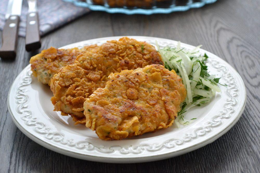 Une recette de galettes au maïs végétariennes