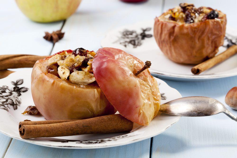 Une recette santé de pommes au four