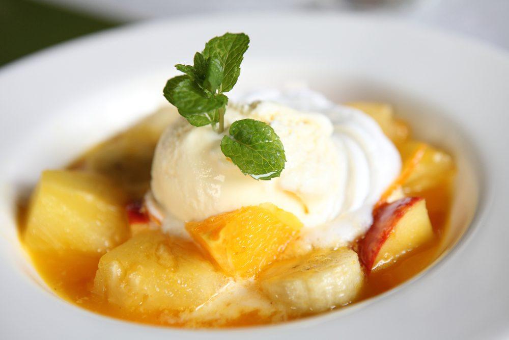 Une recette de dessert santé aux pommes