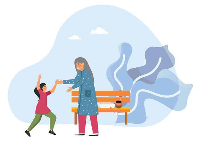S'occuper de ses petits-enfants permet de vivre plus longtemps.