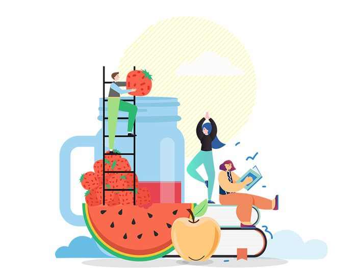 Manger des fruits mûrs permet de vivre plus longtemps.