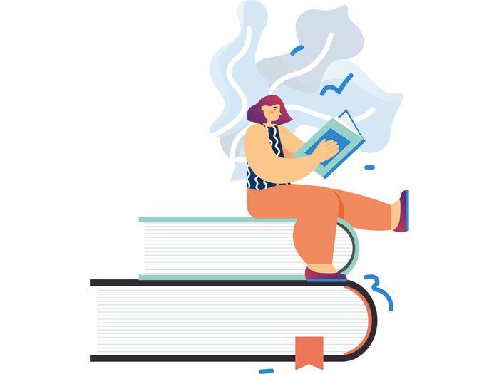 Lire davantage permettrait de vivre plus longtemps.