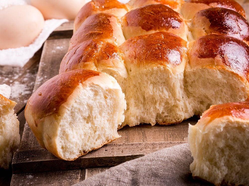 Une recette de petits pains à la levure.