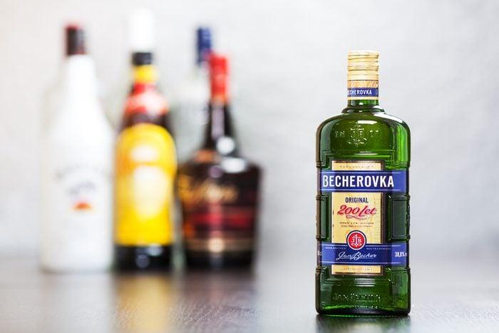 Le Becherovka est une boisson étrange.