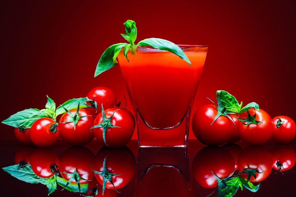 Cette boisson étrange est une vodka aux tomates