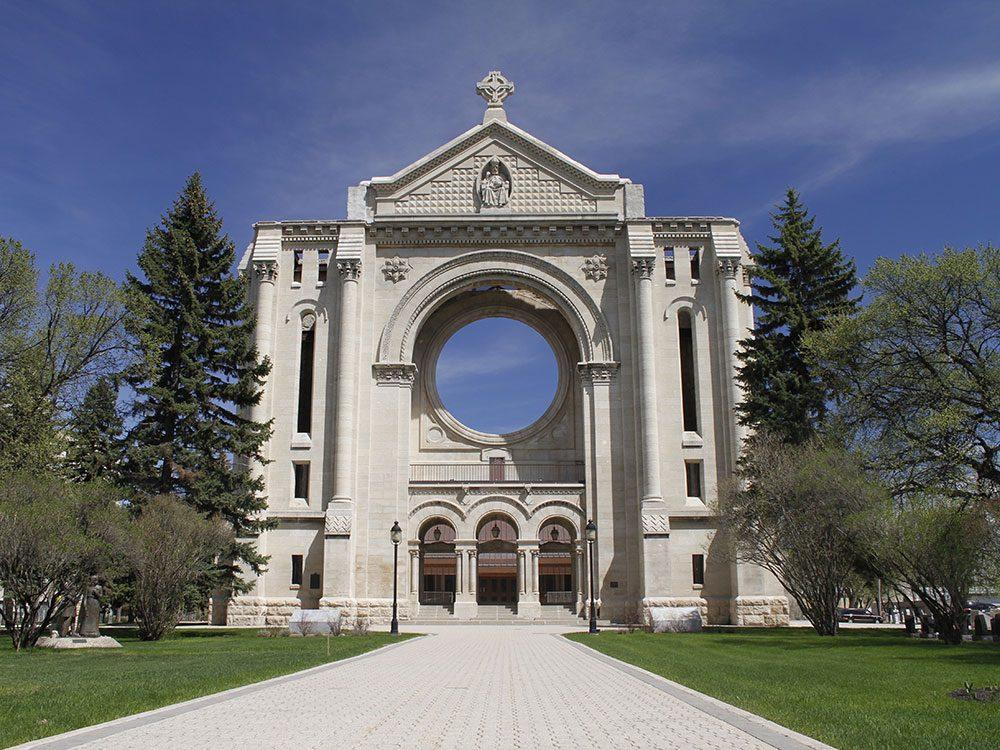 St-Boniface au Manitoba est l'un des endroits à visiter au Canada.