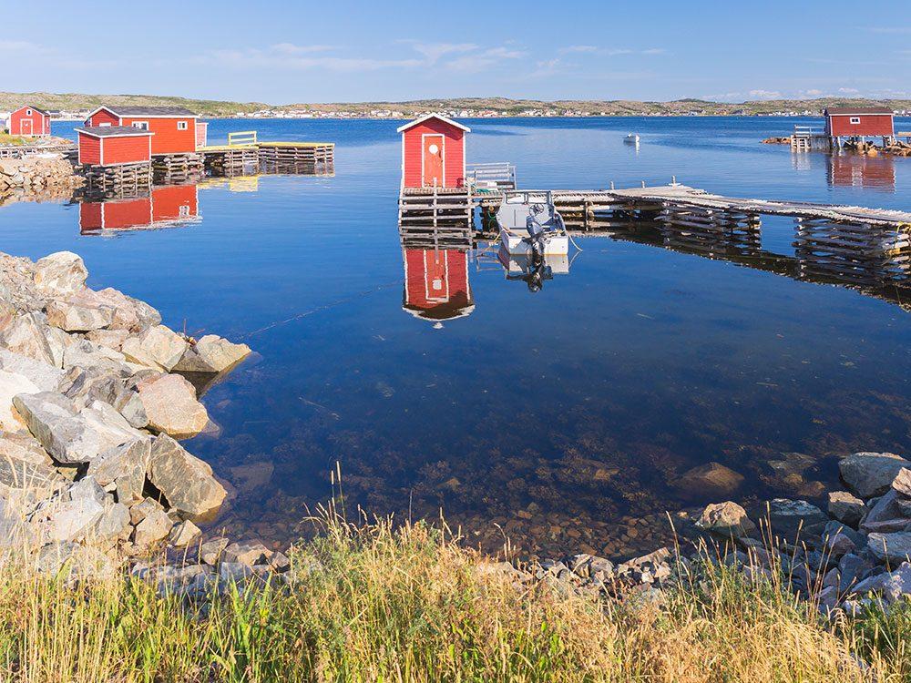 Fogo Island à Terre-Neuve est l'un des endroits à visiter au Canada.