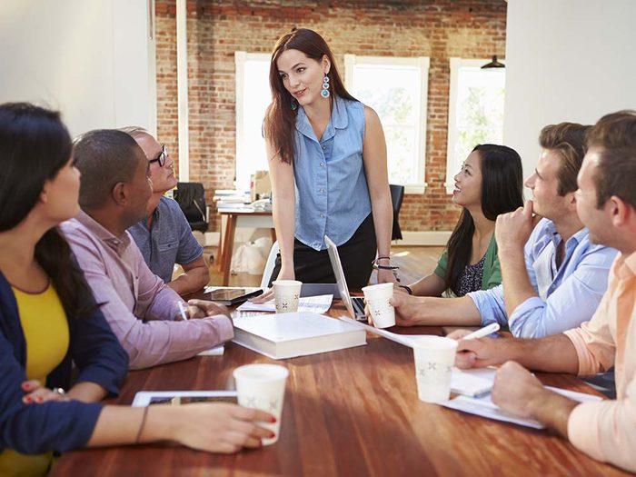 Meeting efficace: maîtriser le début et la fin.