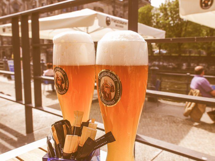 Berlin est l'une des meilleures villes pour prendre une bière