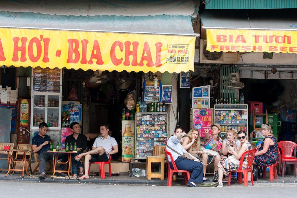 L'une des meilleures villes pour la bière, Hanoi