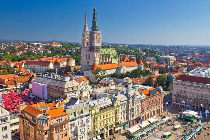 Une des meilleures villes pour la bière est Zagreb