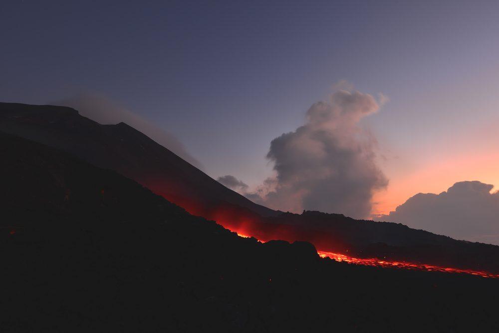 Volcan au Guatemala.