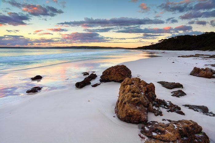 Une des plus belles plages, en Australie.