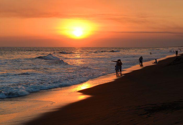 La plus belle plage du Guatemala.
