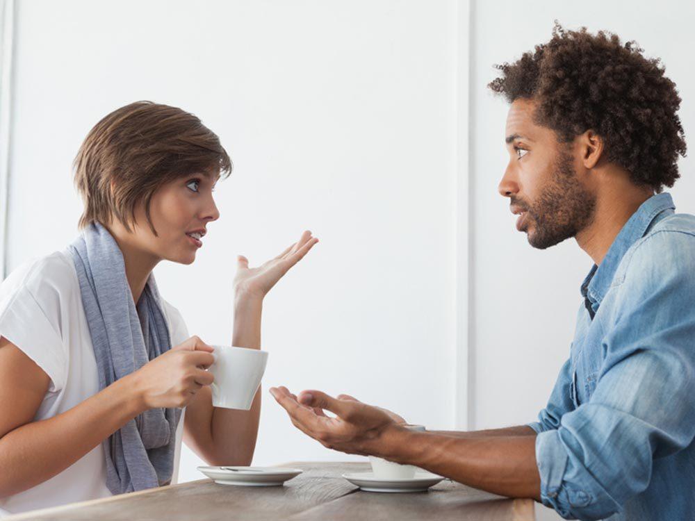 Pour maintenir une bonne vie de couple, il faut accepter les défauts de l'autre.