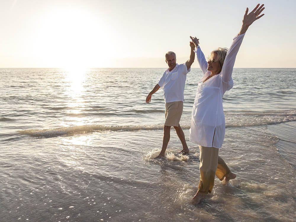 Le secret d'une vide de couple heureuse : c'est d'aimer la vie.
