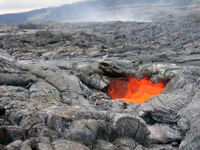 Volcans à Hawaii