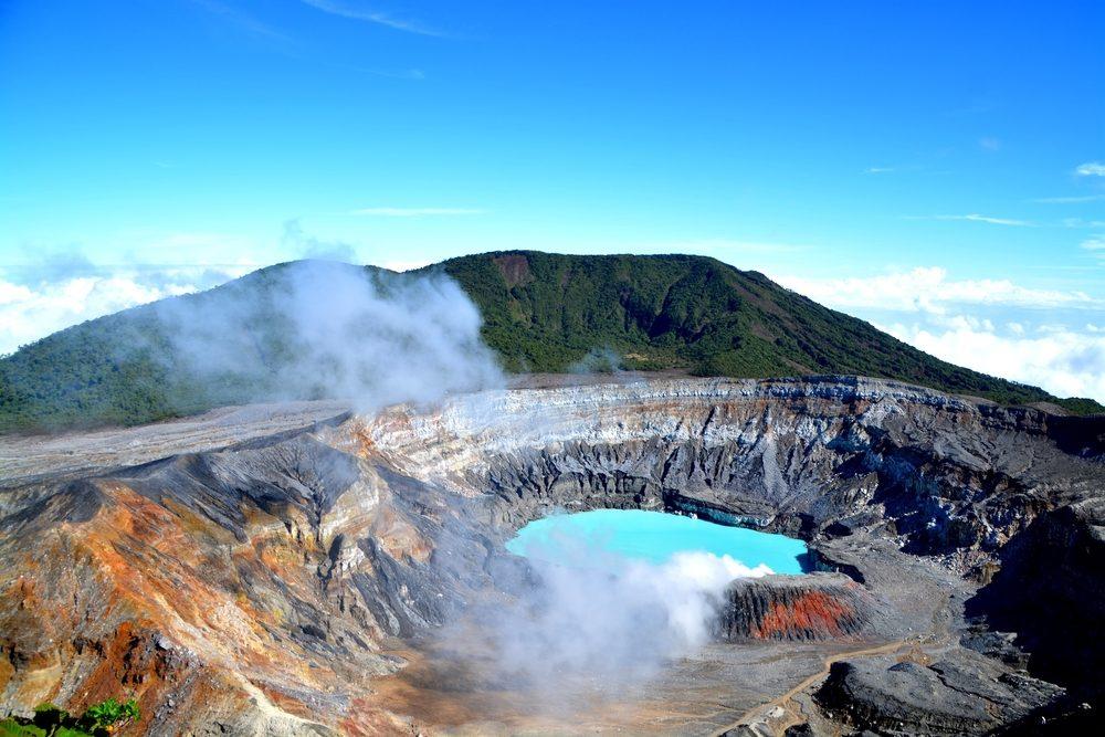 Volcan Poas.