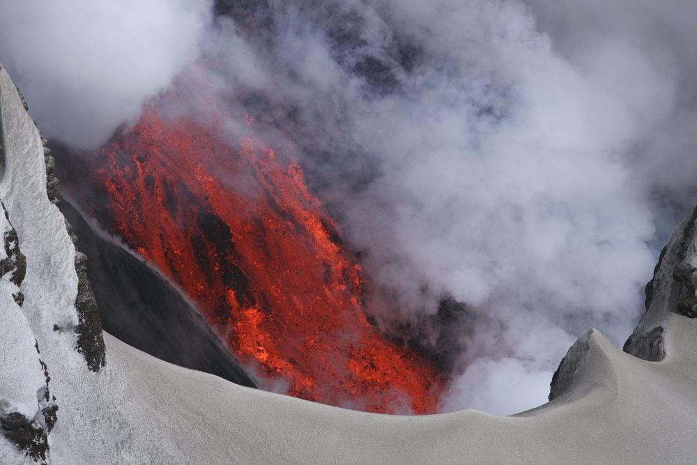 Voyage: visitez les volcans en Islande.