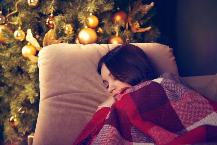 Profitez du temps des fêtes pour dormir d'un sommeil récupérateur.