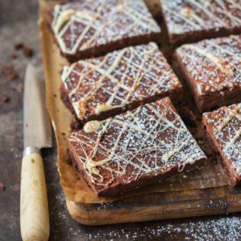 Gâteau au chocolat et aux pois chiches sans gluten