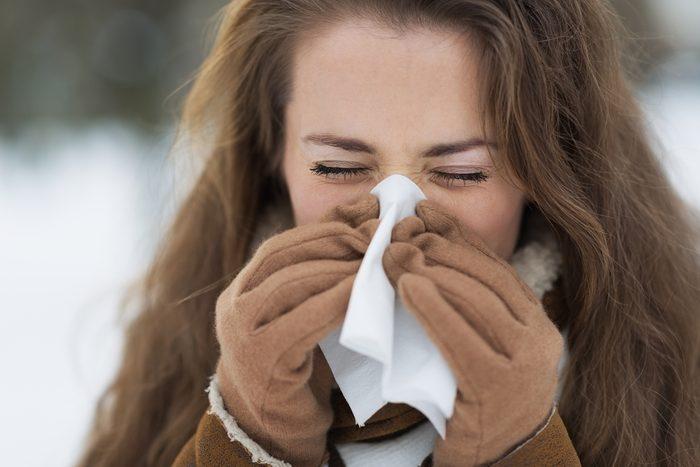 Le nez coule en hiver pour protéger les muqueuses du froid.