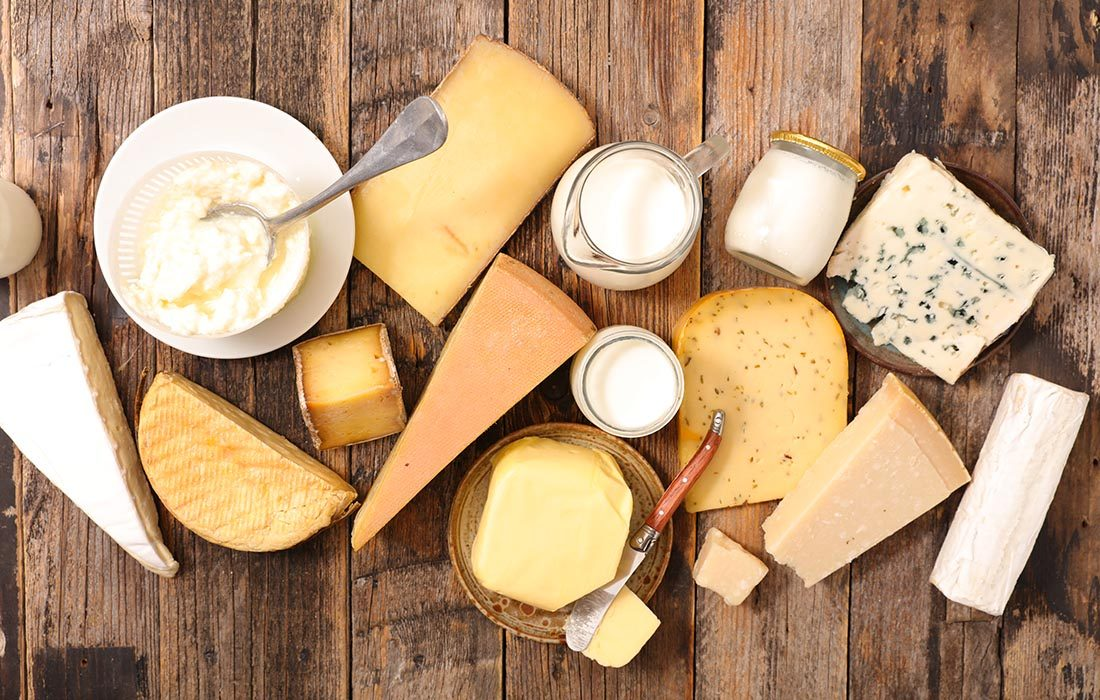 Si vous souffrez d'ostéoporose, il est important d'avoir une alimentation riche en calcium.