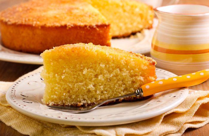 Une recette de gâteau des anges.