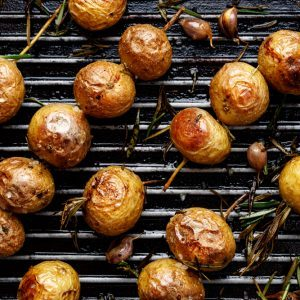 Pommes de terre grelots grillées
