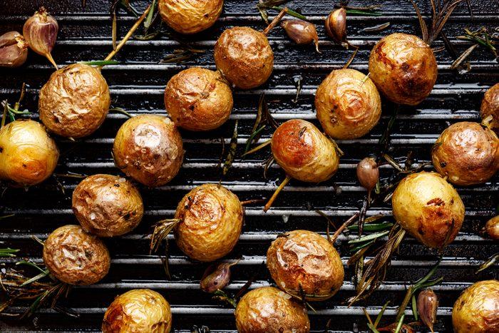 Une recette de pommes de terre grelot