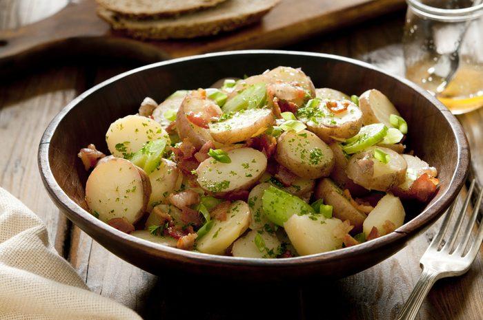 Une recette de salade de pommes de terre
