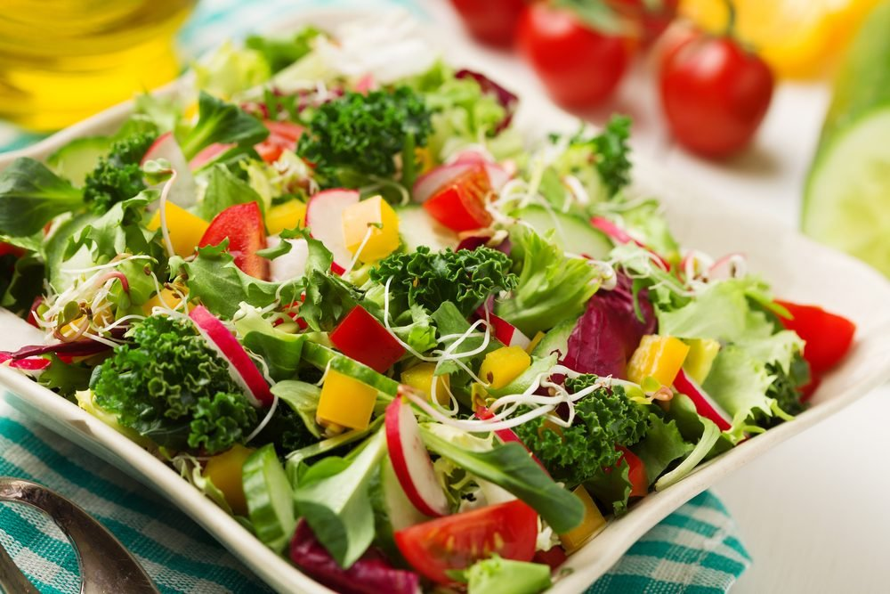 Des recettes à base de citron de salade de kale