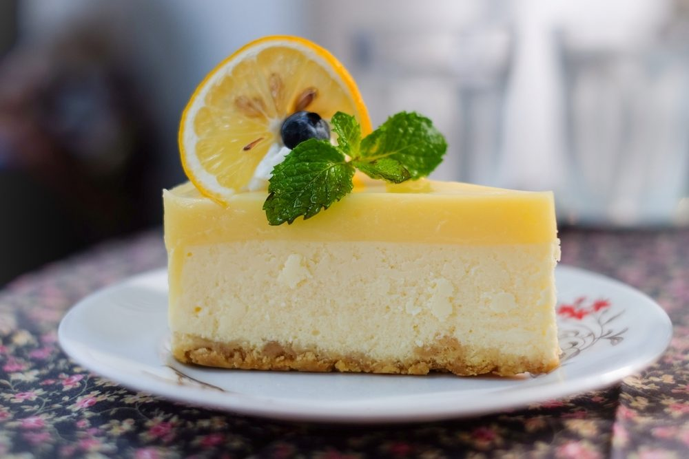 Une recette à base de citron, la tarte au fromage