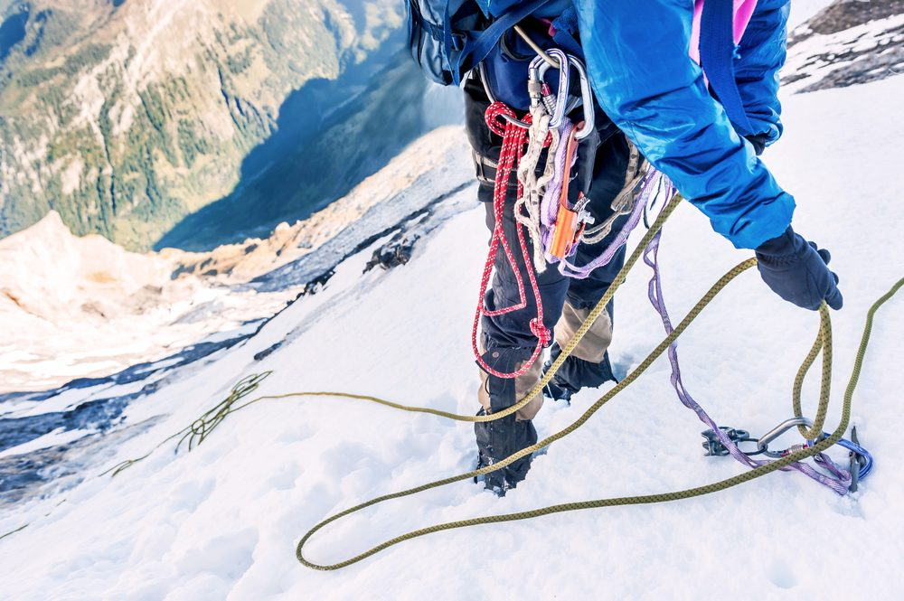 Escalade du Mont-Everest.