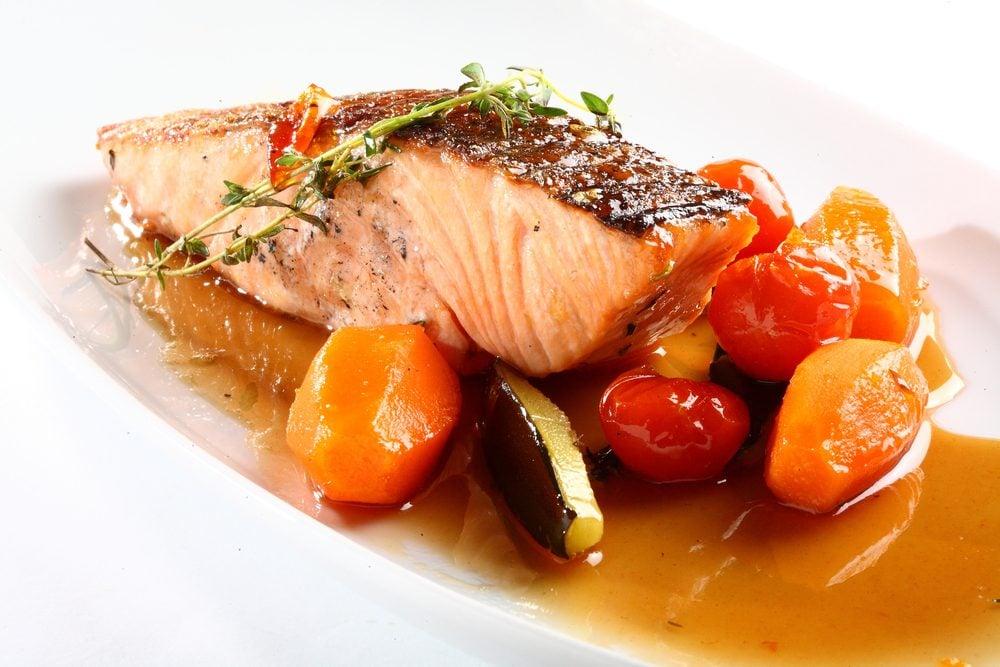 Un saumon santé
