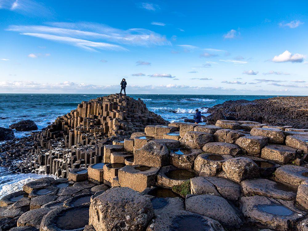 Découvrez l'Irlande et la Chaussée Des Géants.