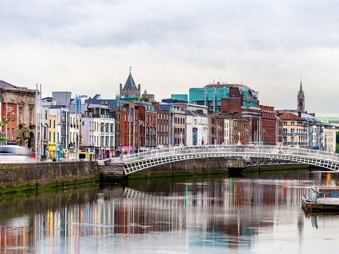 Découvrez l'Irlande et la ville de Dublin.