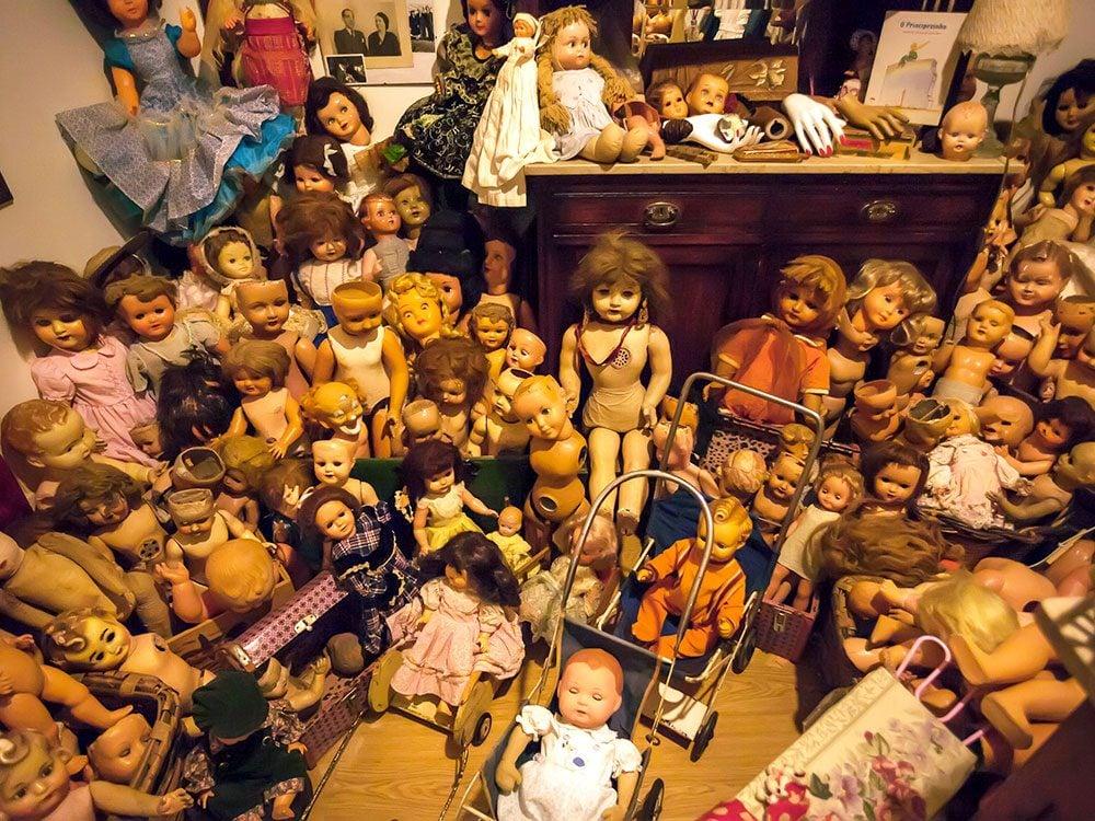 Le magasin de jouets L'hôpital des poupées à Lisbonne.
