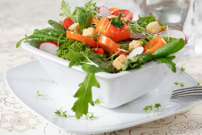 La meilleure recette de salade santé de romaine