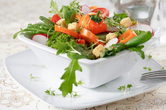 Salade romaine.