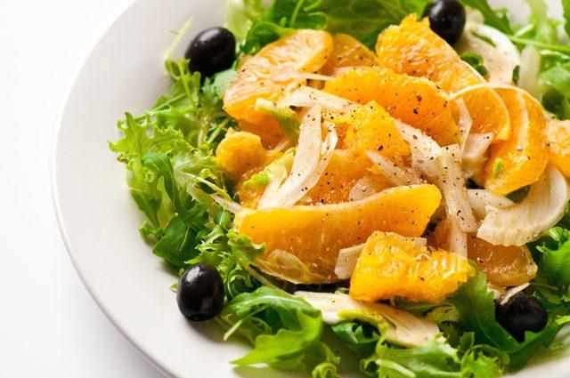 La meilleure recette santé de salade au fenouil.