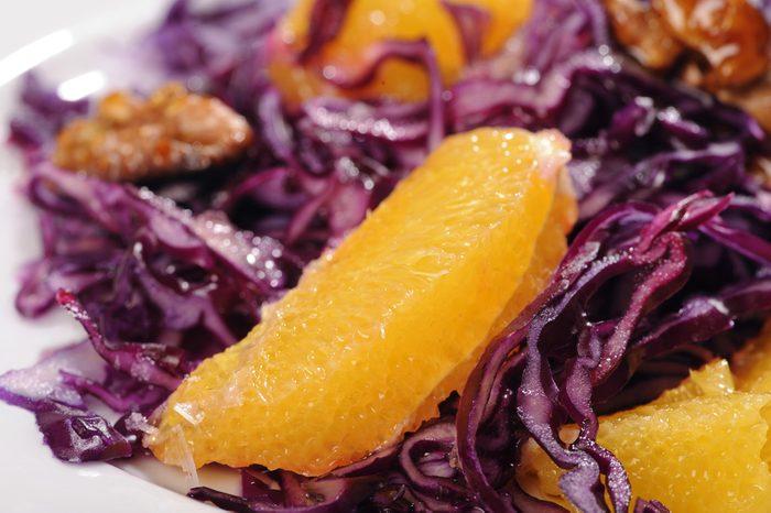 Une recette de salade santé au chou rouge