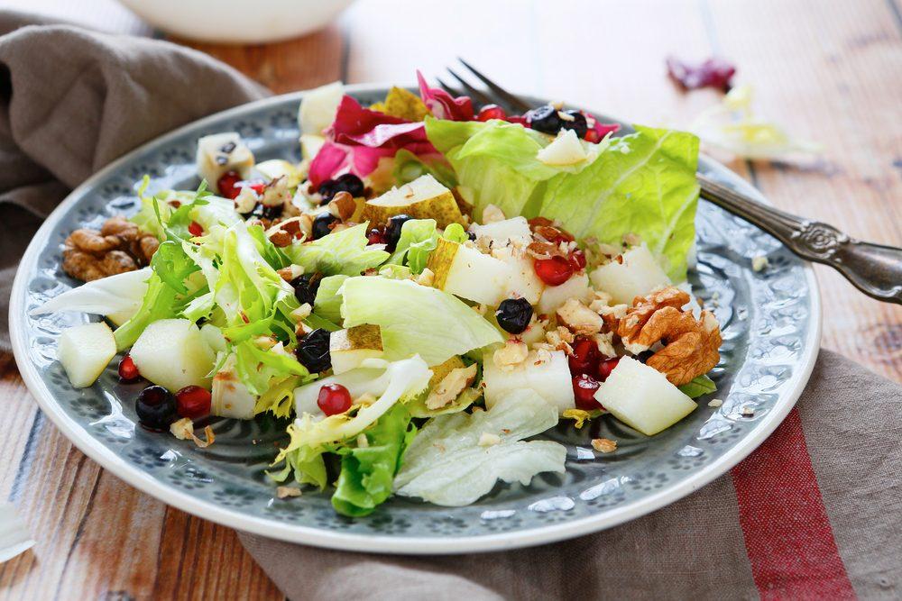 Une de nos meilleures recettes de salades santé aux pommes